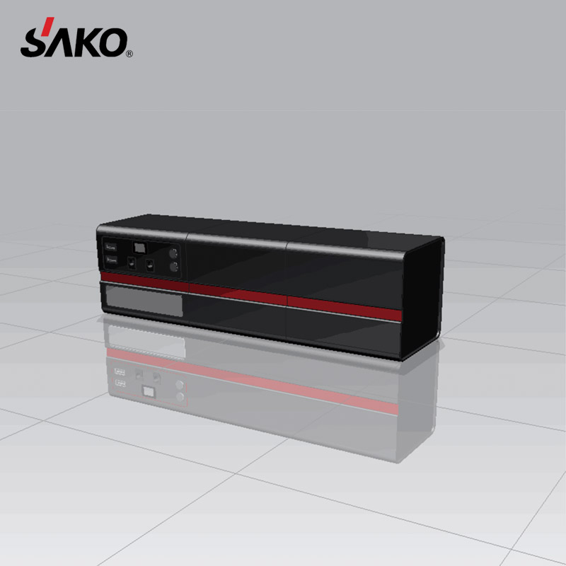 SAKO Portable 12V DC Mini UPS AC Power Bank 4500mah Lithium Inverter   Battery with CE Certificate