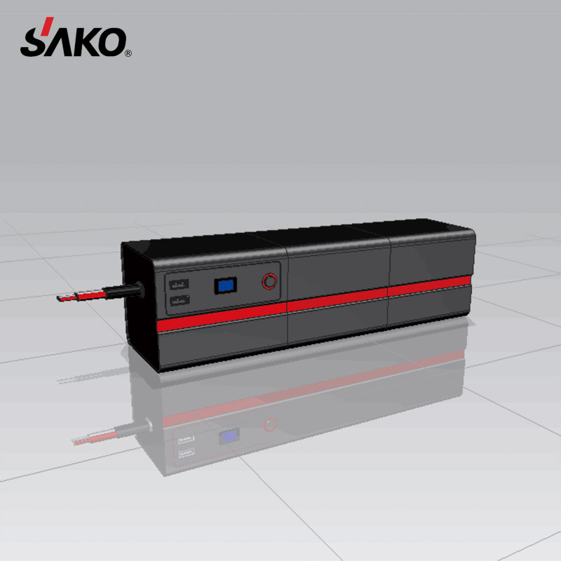 SAKO 24000MAH/76.8WH Passed Rechargeable 12V Car Jump Starter Portable Power Bank   Battery Pack