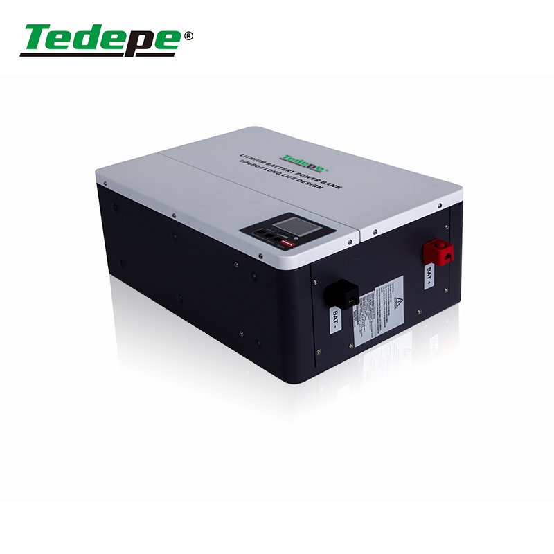 Attractive Look Lithium Battery 48V100AH With 200A BMS Charge And Discharge With  Equalizer  Solar Storage Manufacturer